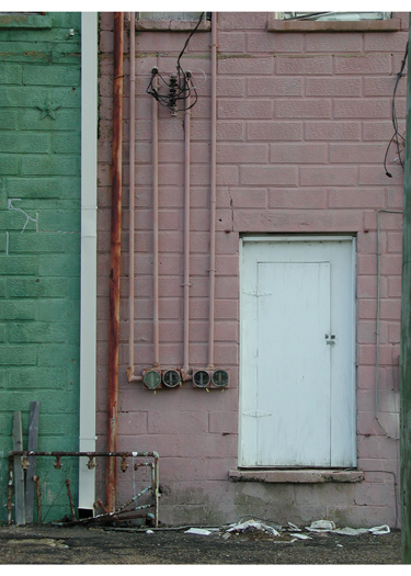 From 121 Doorways by Contemporary Artist Matthew White, Doorway Photography - Columbus, MIssissippi