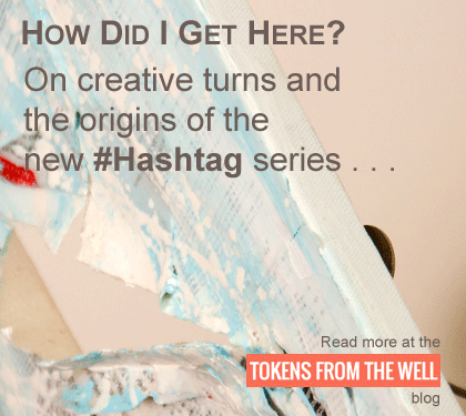 On creative turns and the origins of the new #Hashtag series of contemporary art by Matthew White